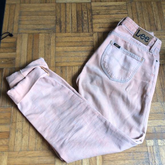 Lee MOM STRAIGHT Peach jeans